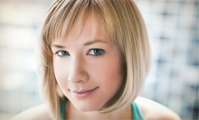 Women's Haircut with Option for Conditioning or Partial- or Full-Foil Highlights at Scissors Rox Paper (Up to 63% Off)
