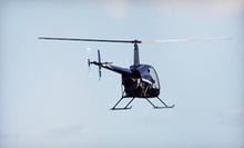 Helicopter Lesson and Video With or Without Two Extra Passengers from KC Copters (Half Off)