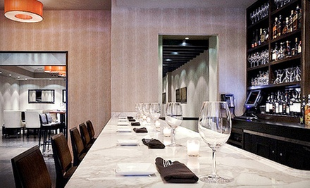 Dinner and Drinks for Two or Four at Grand Cru Wine Bar (Up to 53% Off)