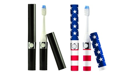 Pursonic s52 Portable Battery-Operated Sonic Toothbrush
