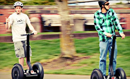 $35 for a Two-Hour Segway Tour from Portland by Segway ($75 Value)