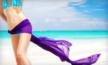 One or Three Skinny Body Wraps at The Salon By David and William (Up to 52% Off)