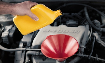 Regular, Synthetic, or Diesel Oil-Change Package at Capital Chrysler Jeep Dodge Ram (Up to 76% Off)