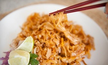 Thai Cuisine at L5 Thai Restaurant &amp; Lounge (Up to 52% Off). Two Options Available.