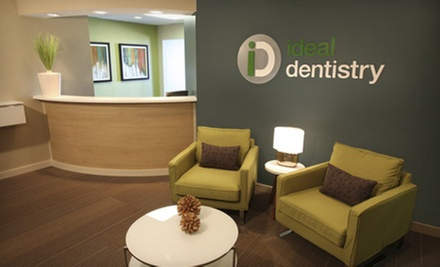 $59 for a Dental Exam with Consultation, X-rays, and Cleaning at Ideal Dentistry ($449 Value)