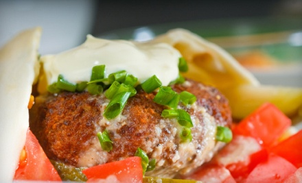$15 for $30 Worth of Food at Bashar&#x27;s Middle Eastern &amp; American Cuisine