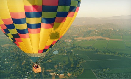 $169 for a Hot-Air Balloon Ride at Sunrise with Champagne Brunch from Up & Away Ballooning (Up to $235 Value)