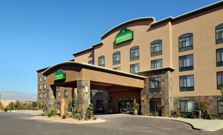 groupon daily deal - Stay at Wingate by Wyndham St. George in St. George, UT. Dates into July.