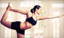 12 or 24 Yoga Classes at Yoga on Main (Up to 78% Off)