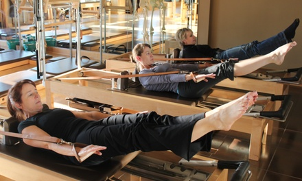 Five or Ten Pilates Equipment Classes or One or Three Private Sessions at The Movement Center (Up to 52% Off)