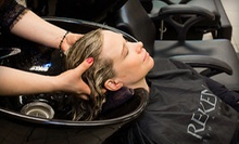Haircut with Moroccanoil Conditioning Treatment and Optional Full or Partial Highlights at Kahlo Salon (Up to 61% Off)