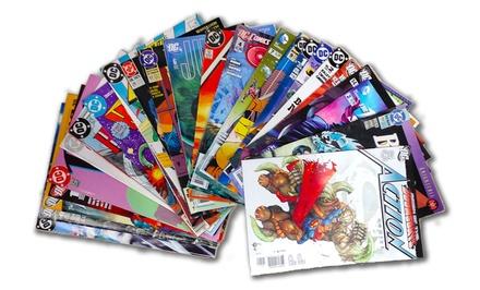 Comic Book Bundle with 25 DC Comics Titles, 25 Marvel Titles, or 50 Marvel and DC Comics Titles from $24.99–$39.99