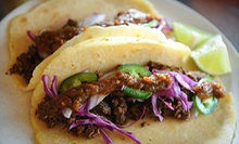Gourmet Tacos for Two or Four at Taco Punk (Up to Half Off)