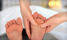 One or Two Reflexology Sessions or Two Ionic Foot-Detox Sessions at All You Need Wellness (Up to 59% Off)