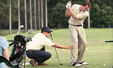 Five 30- or 60-Minute Lessons from Arizona Golf Instructor (Up to 78% Off)