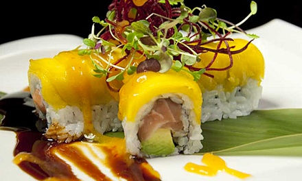 Sushi Meal for Two or Four at Ozu (Up to 56% Off). Four Options Available.