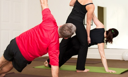 One or Three Months of Unlimited Yoga Classes at OptimalFit Pilates Studio (Up to 79% Off)