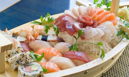 Sushi and Japanese Cuisine, or Dinner for Two at Arigato Japanese Restaurant (Up to 56% Off)