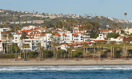 Stay at Holiday Inn Express San Clemente in California. Dates into May.
