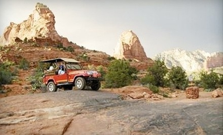 Two-Hour Guided Excursion for One, Two, or Four from Red Rock Western Jeep Tours in Sedona (Up to 43% Off)