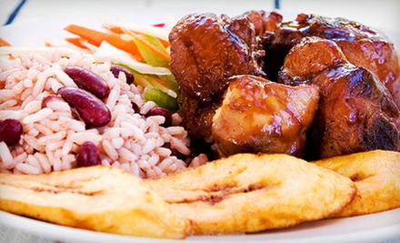 $12 for Two Small Reggaefest Chicken Combo Meals at Golden Krust Caribbean Bakery and Grill (Up to $25 Value)