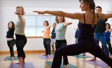 10 or 20 Yoga Classes at Simplicity Yoga Studio (Up to 66% Off)