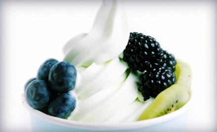 $12 for $25 Worth of Frozen Yogurt and Drinks at Let's Yo Yogurt