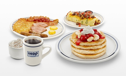 All-Day Breakfast and Diner Food at IHOP (Up to 42% Off). Two Options Available.