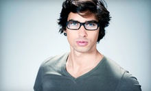 $25 for an Optometry Package with Eye Exam and $225 Toward Lenses and Frames at Happy Eyes Optometry ($310 Value)