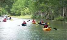 Three-Hour Kayaking Class or Four-Hour Guided Kayak Tour for One, Two, or Four from Texas Pack &amp; Paddle (Up to 56% Off)