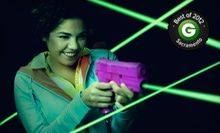 $20 for Laser Tag for Up to Four with Café and Arcade Credits at Lazer X (Up to $78 Value)