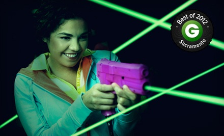 $20 for Laser Tag for Up to Four with Caf and Arcade Credits at Lazer X (Up to $78 Value)