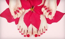 One or Three Shellac Manicures and Regular Pedicures at Aphrodite Salon &amp; Spa (Up to 67% Off) 