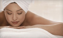 $79 for Spa Package with Swedish Massage, Express Facial, and Mani-Pedi at a. Salon Galleria & Spa ($165 Value)