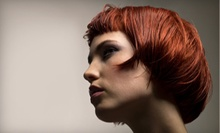 Design Haircut with Style and Optional Partial or Full Highlights at Salon Enchanted (Up to 63% Off)