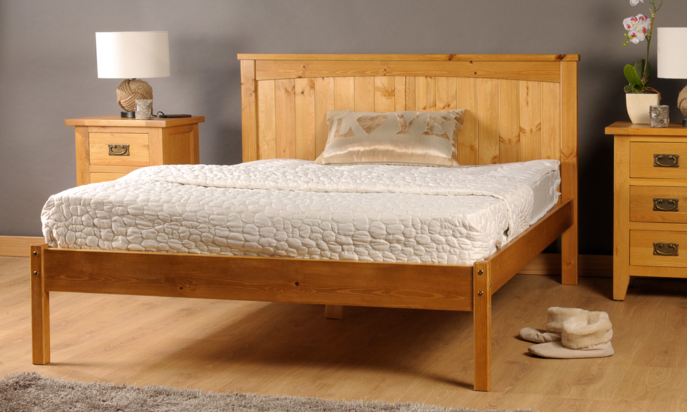 Amprezzo handmade bed frame 99 195 groupon goods for Beds groupon