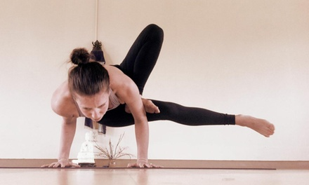 10 or 20 Yoga Classes or One Month of Unlimited Classes at Eugene Yoga (Up to 75% Off)