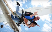 $129 for a Shove Your Love Tandem Jump from Westside Skydivers (Up to $229 Value)
