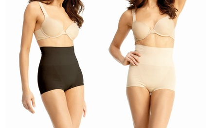 2-Pack of Women's High-Waisted Boxer Shaper
