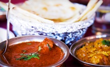 $7 for Two Indian Entrees and Two Drinks from Akshar Foods (Up to $14 Value)