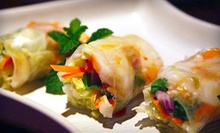 Thai Dinner or Lunch Cuisine for Two at Full Moon Asian Thai Restaurant (Up to 53% Off)