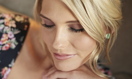Full Set of Eyelash Extensions with Optional Two-Week Fill-In at Genie Wink Lash Studio (Up to 55% Off)