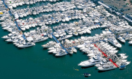 One-Day Outing for Two or Four to Newport Boat Show (Up to 53% Off)