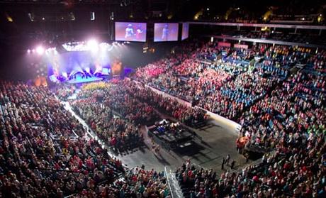 Inspirational Christian Event Women Of Faith Believe God
