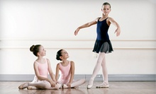 One-Month Weekly Dance-Class Package for One or Two at Colorado Academy of Music and Dance (Up to 83% Off)