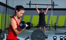 $72 for $130 Worth of CrossFit at Caged CrossFit