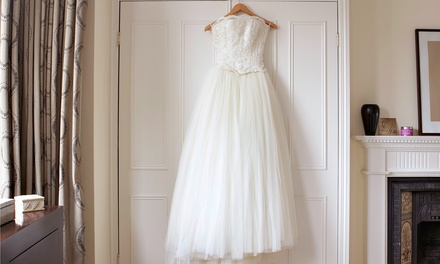 Wedding Dress Preservation and Cleaning or Services in Time (Up to 50% Off)