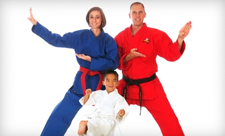 $14.95 for One Month of Unlimited Martial-Arts Classes with Uniform at USA Karate ($49.95 Value)