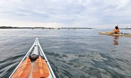 Half-Day Sea-Kayak Tour for One or Two at Portland Paddle (Up to 41% Off)