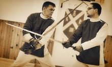 Intro to Swordplay Workshop for One or Two, or a Party Package for Up to Eight at Ottawa Swordplay (Up to 58% Off)